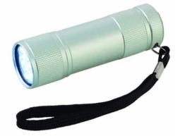 Taschenlampe 9xLED