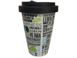 Coffee2Go Porzellan Becher
