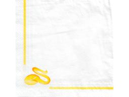 Servietten mit Werbedruck, 24 x 24 cm, 2-lagig